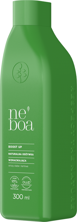 Boost up naturalna odżywka wzmacniająca, włosy słabe i łamliwe