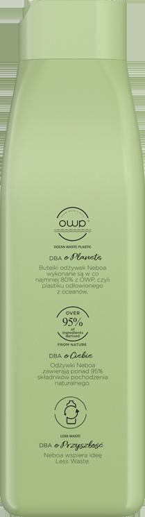 Detox&balance naturalna odżywka balansująca, włosy przetłuszczające się i wrażliwa skóra głowy