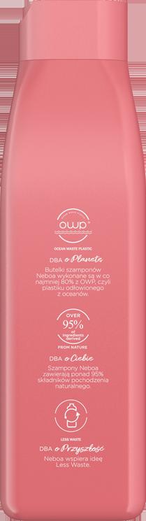 Discipline naturalny szampon zapobiegający puszeniu, włosy kręcone i puszące się