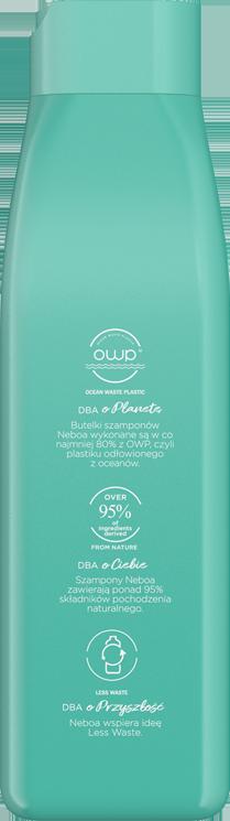 Lift up naturalny szampon zwiększający objętość, włosy cienkie i delikatne