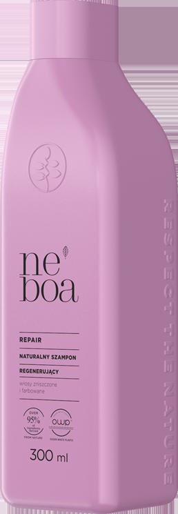 Repair natRepair naturalny szampon regenerujący, włosy zniszczone i farbowaneuralny szampon regenerujący