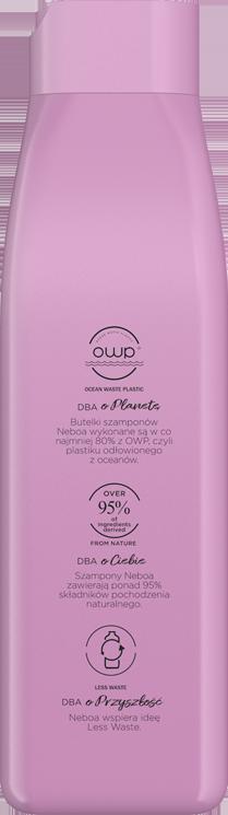 Repair naturalny szampon regenerujący, włosy zniszczone i farbowane