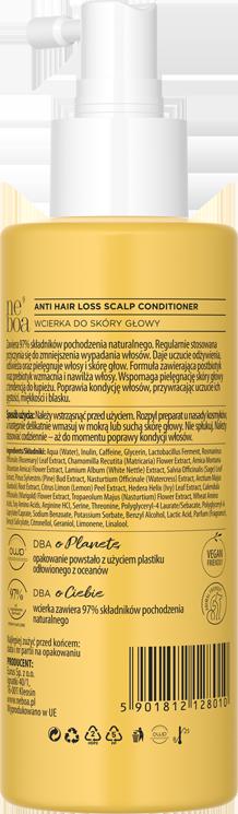 Anti hair loss wcierka do skóry głowy przeciw wypadaniu włosów, do skóry głowy